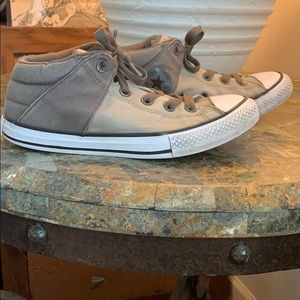 Converse All Star Kids Chucks Size 3 Grey Color